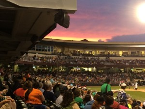 Dayton Dragons' Game 2015